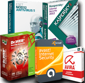 Keys for ESET NOD32, Kaspersky, Avast, Dr.Web, Avira