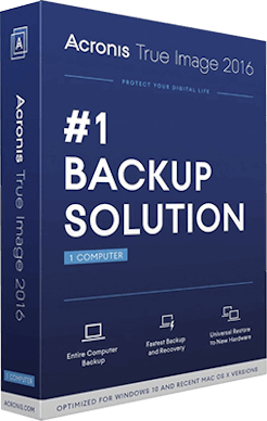 Acronis True Image 2016 19.0 + Crack