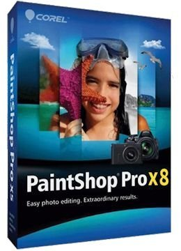 Corel PaintShop Pro X8 18.0.0.124 + Keygen x86x64