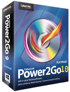 CyberLink Power2Go Platinum 10