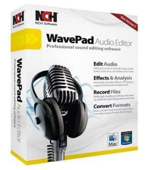 NCH WavePad Sound Editor 6.24 + Crack