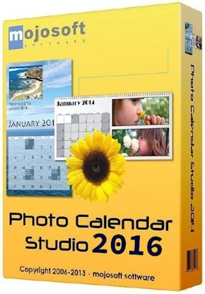 Mojosoft Photo Calendar Studio 2016 2.00 + Serial