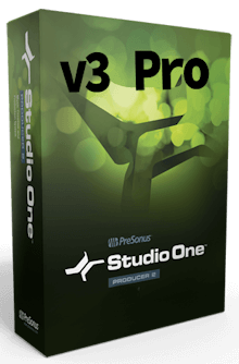 PreSonus Studio One 3 Pro 3.0.2 + Patch (Windows - MacOSX)
