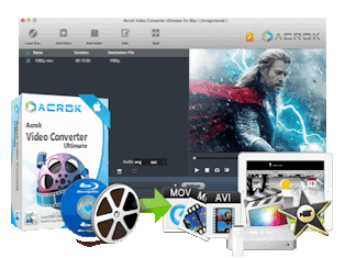 Acrok Video Converter Ultimate 4.3.41.606 Crack