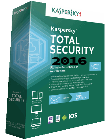 Kaspersky Total Security 2016 16.0.0.614 Crack