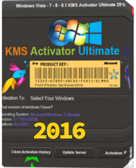 Windows KMS Activator Ultimate 2016 v2.7 Full