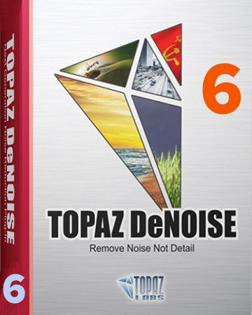 Topaz DeNoise 6 + Serial Number (Win - Mac OS)