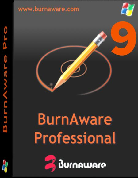 BurnAware Professional 9 Multilingual + Patch