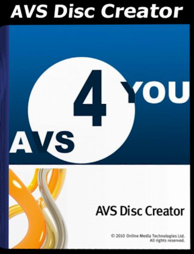 AVS Disc Creator 5.2 Multilingual + Patch