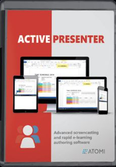 ActivePresenter Professional Edition 6.0.1 Crack