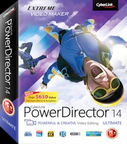 Cyberlink PowerDirector Ultimate 14 + Keygen