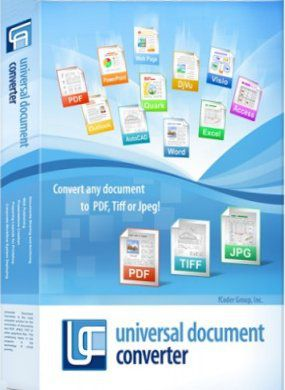 Universal Document Converter 6.6 + Keys