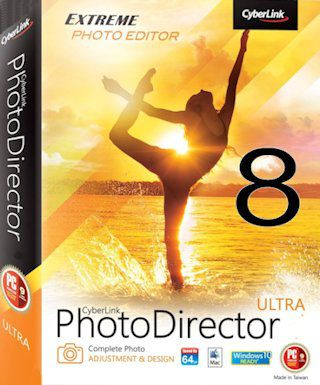 CyberLink PhotoDirector Ultra 8 Full + Crack
