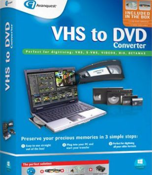 VHS to DVD Converter 7.85 Full + Serial Key