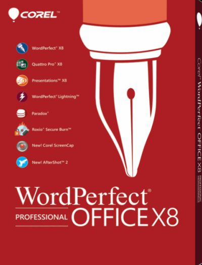 Corel WordPerfect Office Professional X8 Crack Download