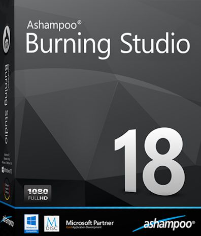 Ashampoo Burning Studio 18.0.6 Multilingual Crack