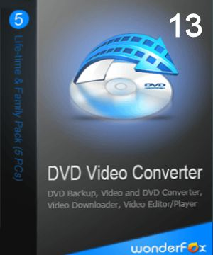 WonderFox DVD Video Converter 13 License Keys