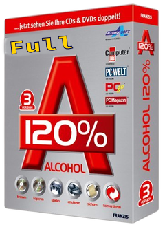 Alcohol 120 v2.0.3 Full Version Incl Crack