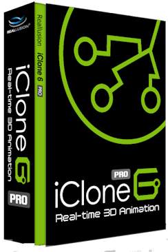 Reallusion iClone 6.2 + Key and Resource Pack