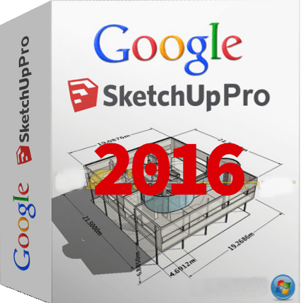SketchUp Pro 2016 16.0.19913 + Patch (Win - Mac)