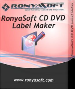 RonyaSoft CD DVD Label Maker 3.2.4 Serials