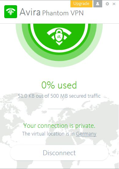 Avira Phantom VPN PRO 1.3.1 Full + Crack