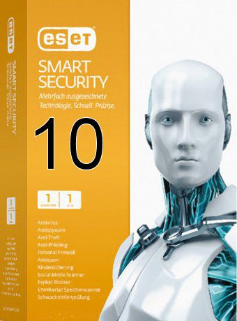ESET Smart Security 10 Full + Crack (x86x64)