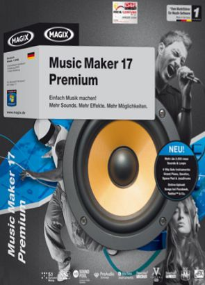 MAGIX Music Maker 2017 Premium Crack and Content