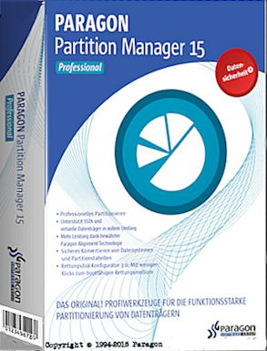 Paragon Partition Manager 15 Serial Full (x86x64)