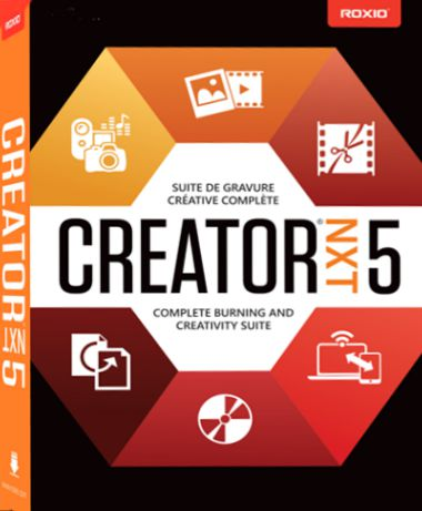 Roxio Creator NXT Pro 5 Full + Addon Direct Download