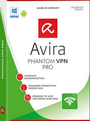 Avira Phantom VPN Pro 2.2.1 + Crack Full Version