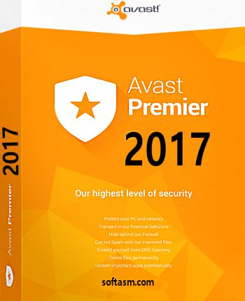 Avast Premier 2017 Full Version + Crack License Key