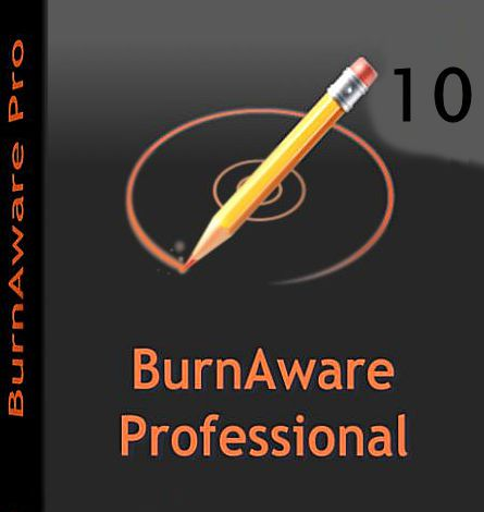 BurnAware Professional 10 Cracked + Portable