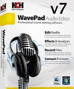 NCH WavePad Sound Editor Master Edition 7.02 Incl Crack