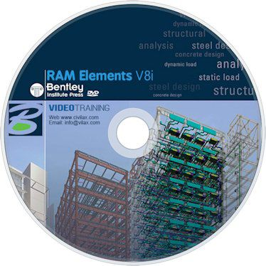 RAM Elements V8i (CONNECT Enabled) v13.5 Crack