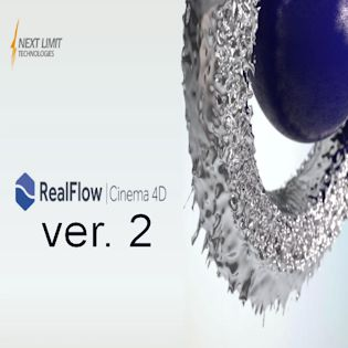 RealFlow for Cinema 4D v2.0 + Full Crack (Win-Mac)