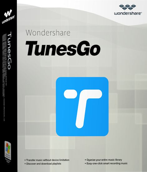 Wondershare TunesGo 9.5 + Crack Full Version