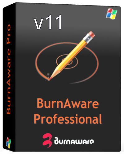 BurnAware Professional 11 Crack + Serial Full Version