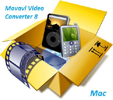 Movavi Video Converter 8.1.2 Crack + Serial macOS