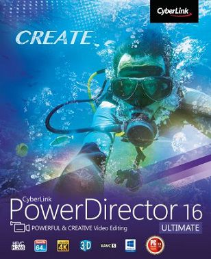 CyberLink PowerDirector Ultimate 16